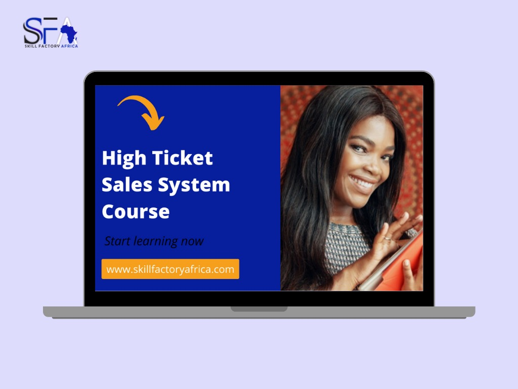 High ticket sales system course
