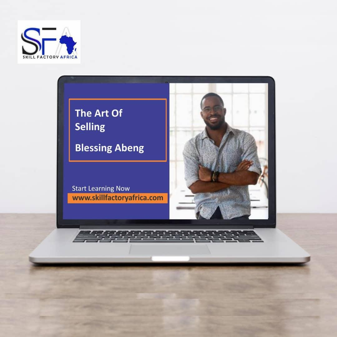 The art of selling with Blessing Abeng