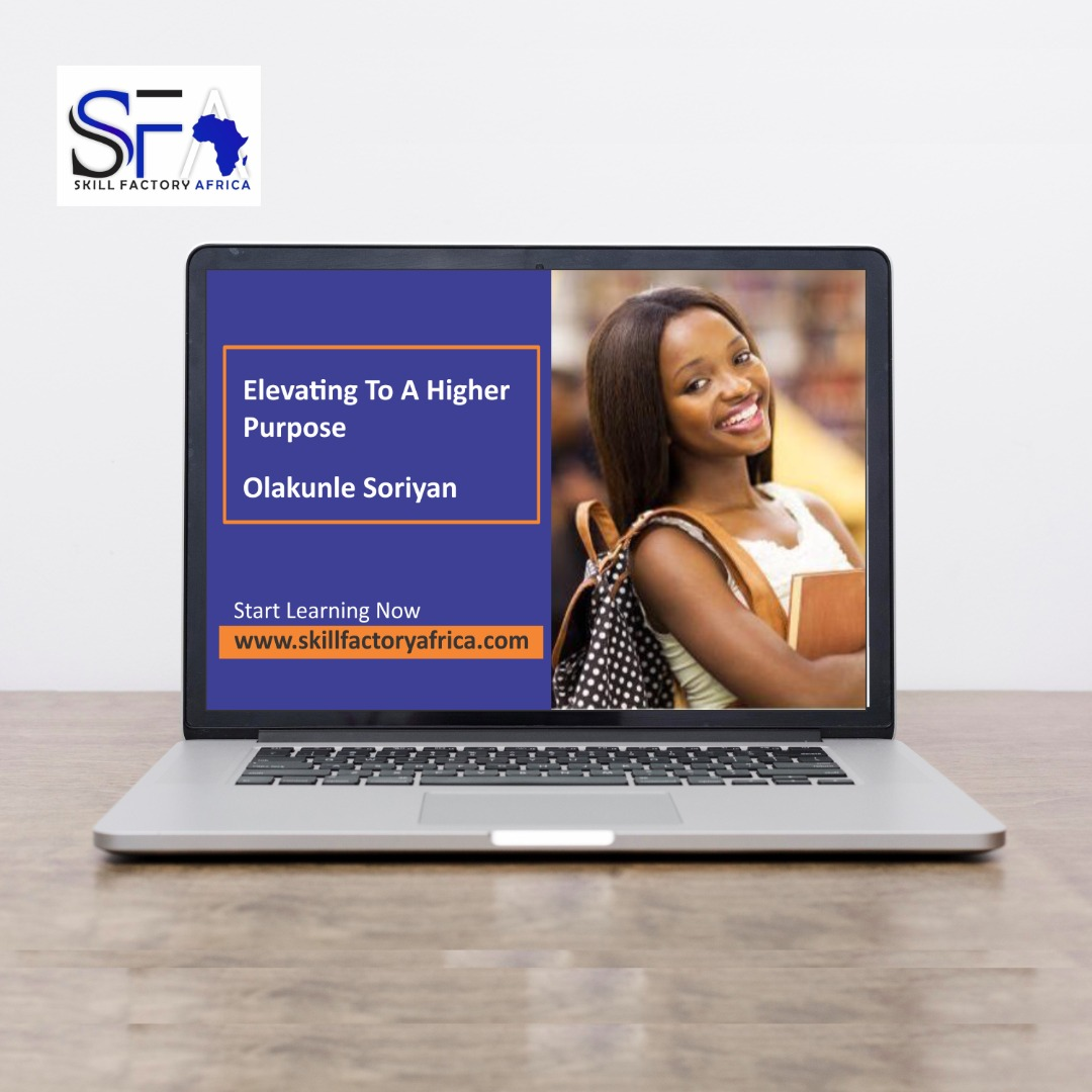 Elevating To a higher purpose with Olakunle Soriyan
